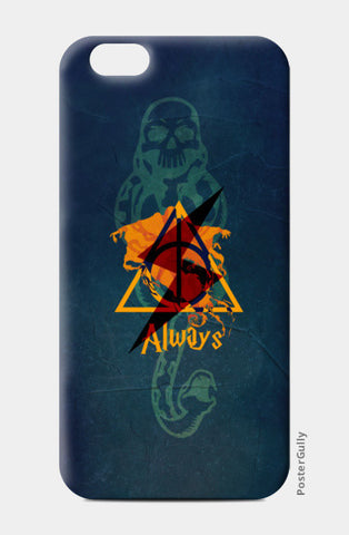 Always | Harry Potter iPhone 6/6S Cases | Artist : Ved Uttam