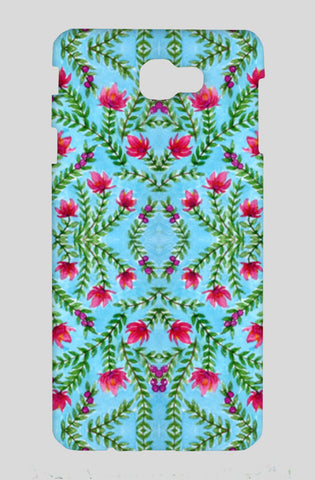 Blue And Pink Traditional Watercolour Floral Pattern Samsung On Nxt Cases | Artist : Seema Hooda