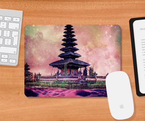Mousepad, Chinese Temple Mousepad | Divakar Singh, - PosterGully