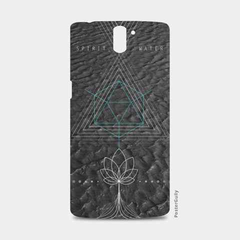 One Plus One Cases, Water Sacred Geometry One Plus One Cases | Artist : Kshitija Tagde, - PosterGully