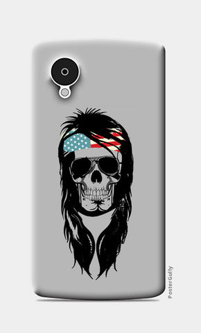 Nexus 5 Cases, Rockstar Skull Nexus 5 Cases | Artist : Abhishek Bhardwaj, - PosterGully