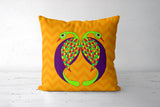 Peacock Love Cushion Covers | Artist : Stuti Bajaj