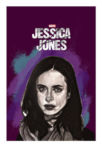 Jessica Jones Wall Art | Artist : Aninya Gangal