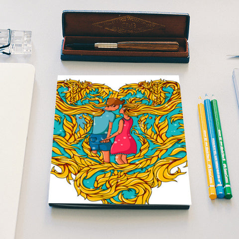 Forever in Love Notebook | Artist : Harsimran sain