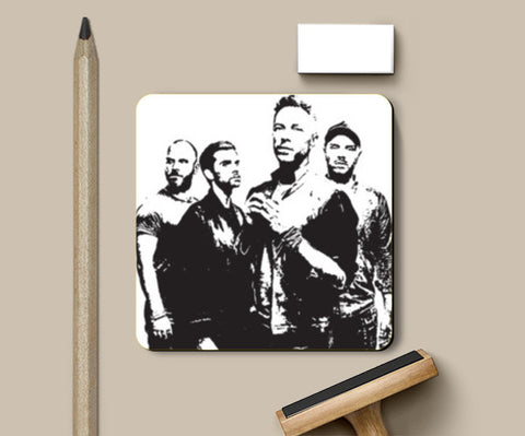 COLDPLAY BAND Coasters | Artist : Kau.Vish