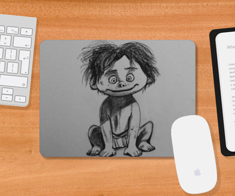 Spot- The Good Dinosaur Mousepad | Artist : Abhinav Moona