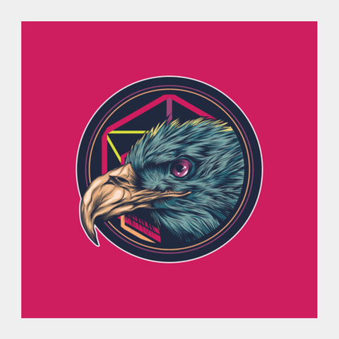 Eagle Square Art Prints | Artist : Inderpreet Singh
