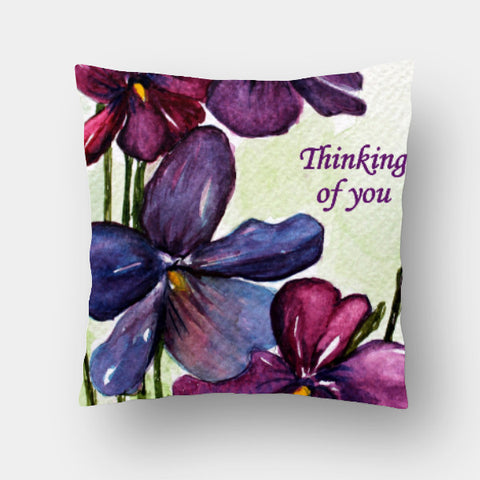 Cushion Covers, Thinking Of You Cushion Cover l Artist: Seema Hooda, - PosterGully