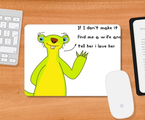 Mousepad, Sid-Love Life Mousepad | Artist: Sara, - PosterGully