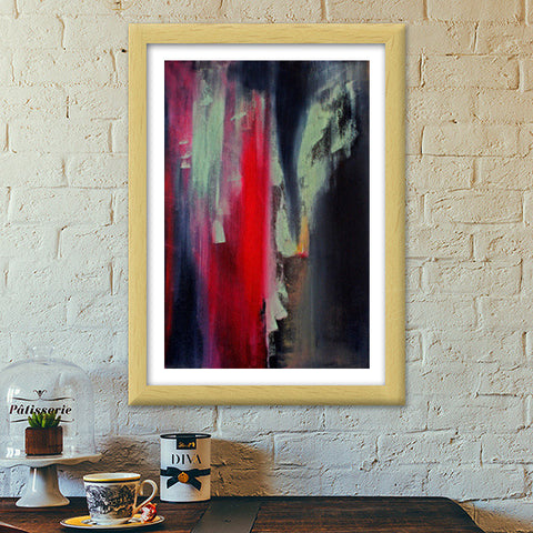 Color your wall Premium Italian Wooden Frames | Artist : Anna Joseph Kurian