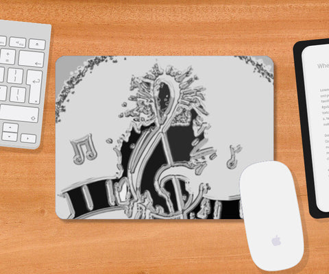 Music Pad Mousepad | Artist : Navdeep Sharma