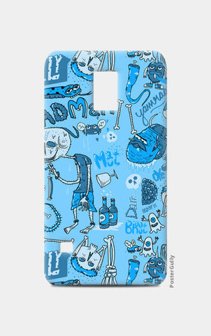 Samsung S5 Cases, Dead pattern Samsung S5 Cases | Artist : Aroop Mishra, - PosterGully