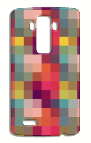 Geometric Squares Abstract Mosaic Pattern LG G4 Cases | Artist : Seema Hooda