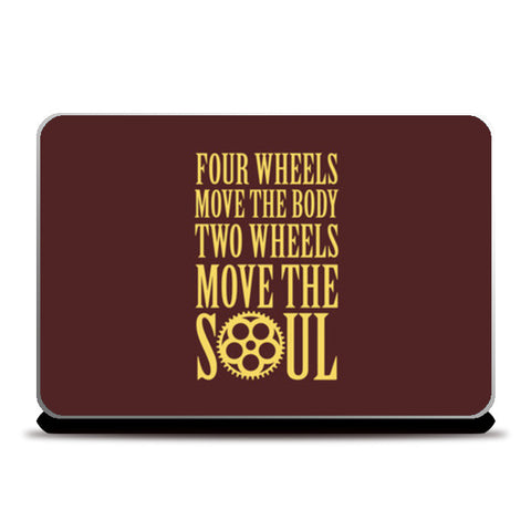 Laptop Skins, Move the Soul Laptop Skins | Artist : Throttlerz Group, - PosterGully