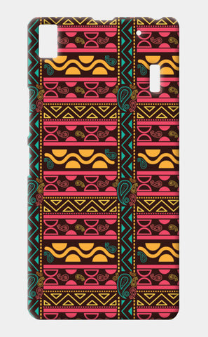 Abstract geometric pattern african style Lenovo K3 Note Cases | Artist : Designerchennai
