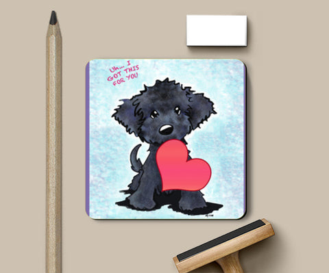 Coasters, puppy love  Coasters | Artist : Pritika Uppal, - PosterGully