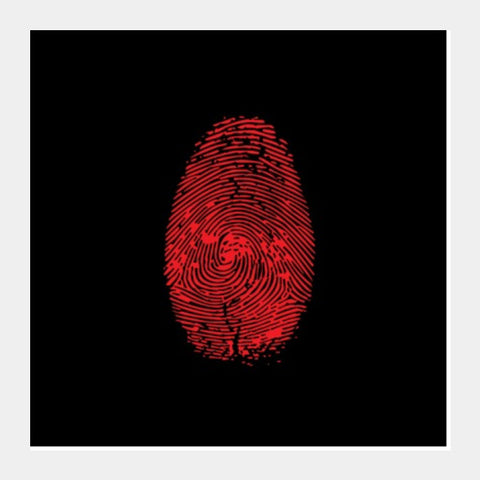 Square Art Prints, FINGERPRINT Square Art Prints | Artist : Sonia Punyani, - PosterGully