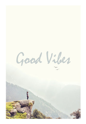 Good Vibes Wall Art | Artist : Samar Khan