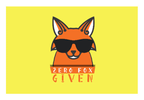 Wall Art, Zero Fox Given Wall Art | Artist: Shivam Dhuria, - PosterGully