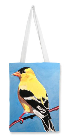 Tote Bags, Goldfinch Tote Bags | Artist : Anuja Katti, - PosterGully