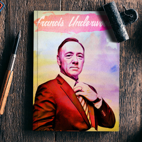 House of Cards | Underwood Digital Painting Notebook | Artist : Gub Gub