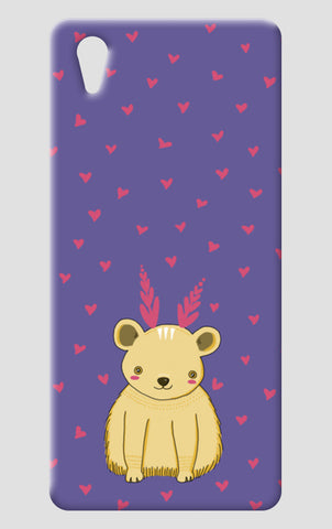 Cute Bear Pattern One Plus X Cases | Artist : Prajakta Rao