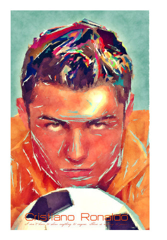 Wall Art, ronaldo fan art Wall Art | Artist : abhijeet sinha, - PosterGully
