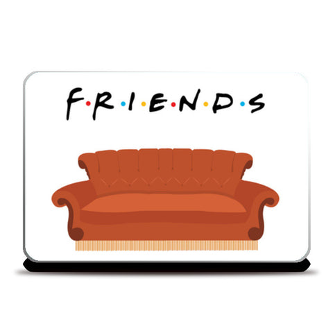 Laptop Skins, Central Perk Friends Couch Laptop Skins | Artist : safira mumtaz, - PosterGully