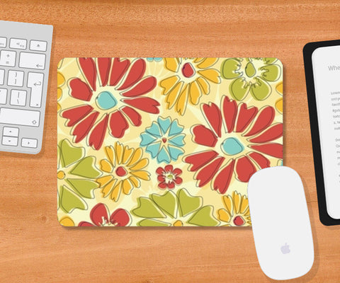 Flora Mousepad | Artist : Tiny Dots