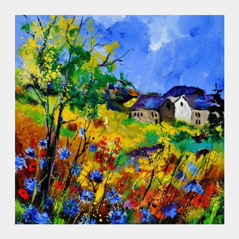 summer 6731 Square Art Prints | Artist : pol ledent
