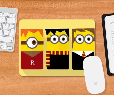 Mousepad, Harry Potter Minions Mousepad | Artist Sarbani Mookherjee, - PosterGully
