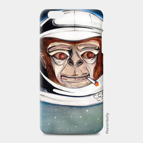 Astro Monkey iPhone 6 Plus/6S Plus Cases | Artist : Kanika Bardava