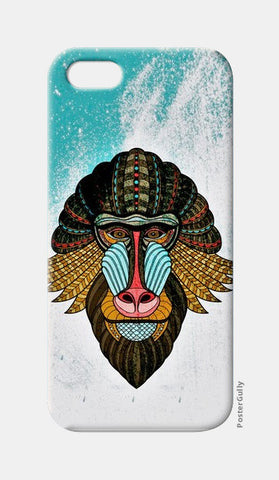 iPhone 5 Cases, baboon case iPhone 5 Cases | Artist : kamal kaur, - PosterGully