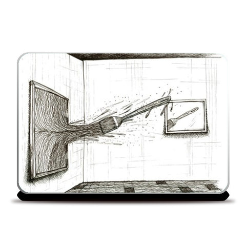 Mirror Laptop Skins | Artist : kartikey sharma
