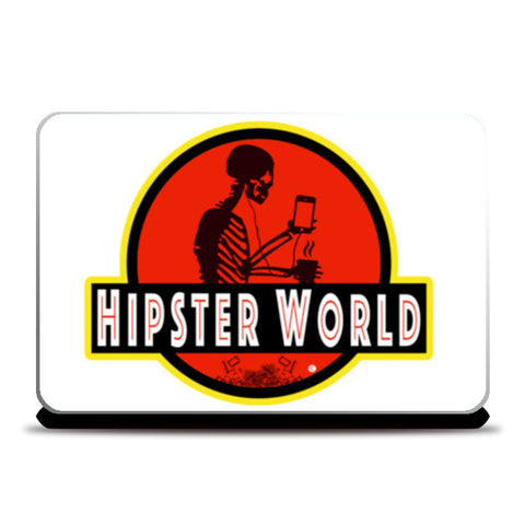 Laptop Skins, Hipster World Laptop Skins | Artist : Bum from the Bay, - PosterGully