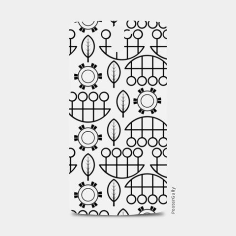 Black and white design vector pattern One Plus One Cases | Artist : Designerchennai