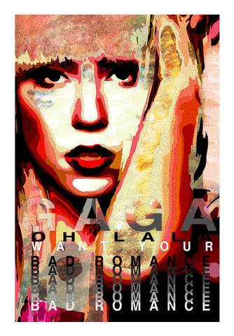 Lady Gaga Art PosterGully Specials