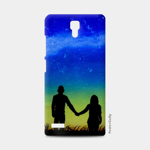 Sunset Love Painting Redmi Note Cases | Artist : Rahul Tanwar