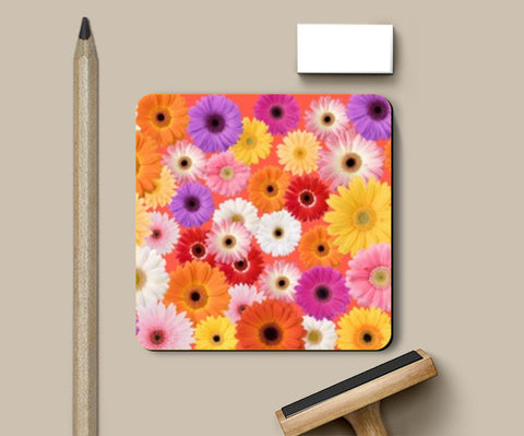 Flowers everywhere Coasters | Artist : Pallavi Rawal