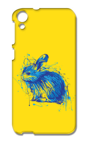 Rabbit HTC Desire 820 Cases | Artist : Inderpreet Singh