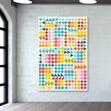 Basic Shape Pattern  Wall Art | Artist : Nishit shah