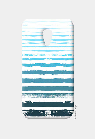 Uneven Blue Stripes Moto G2 Cases | Artist : Amantrika Saraogi