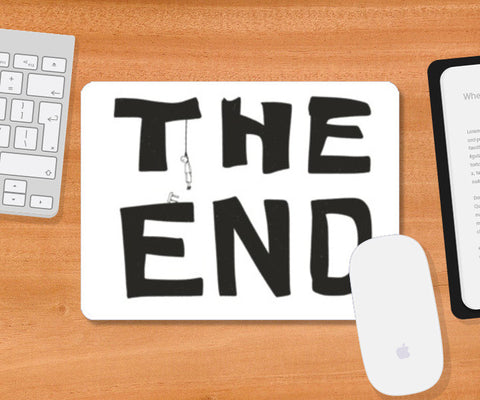 Mousepad, The End Mousepad | Artist : saurabhzuve, - PosterGully
