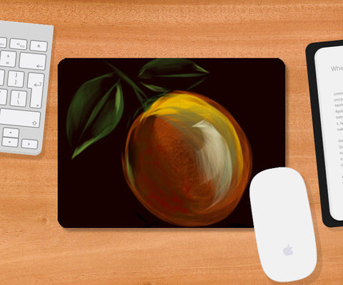 lemon orange Mousepad | Artist : amit kumar