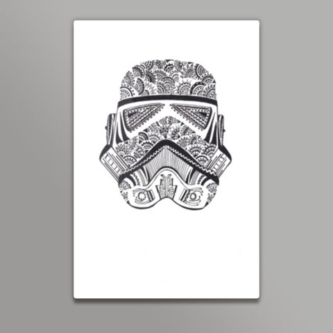 storm trooper Metal Prints | Artist : All the randomness