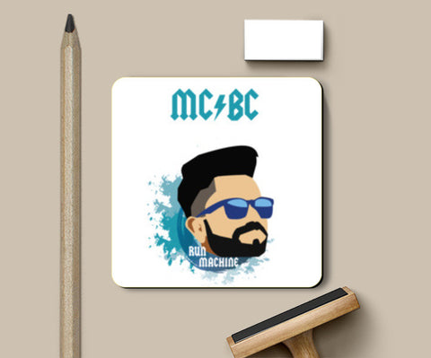 Virat Kohli | Illustration Coasters | Artist : Sandeep Narayan