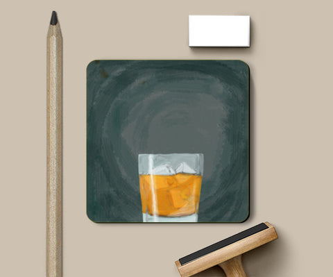 Single Malt scotch whiskey Coasters | Artist : Keshava Shukla