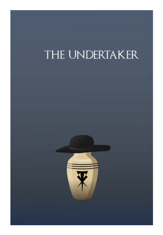 The Undertaker Art PosterGully Specials