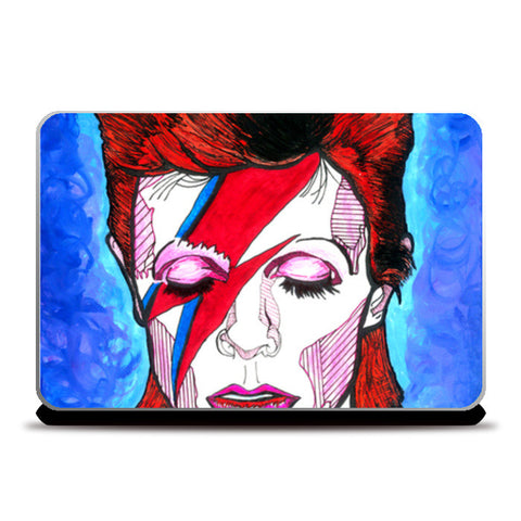 David Bowie - From Starman to Stardust Laptop Skins | Artist : Pop Goes The Easel