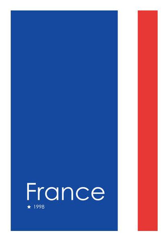 PosterGully Specials, France Forever Wall Art | Artist : Alok Sharma, - PosterGully